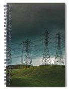 San Joaquin Valley Power Grid Spiral Notebook