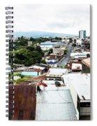 San Jose Costa Rica Spiral Notebook