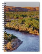 San Juan River At Sunrise Spiral Notebook
