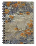Sand, Charcoal, And Rust Spiral Notebook
