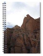 Sandstone Hoodoos Spiral Notebook