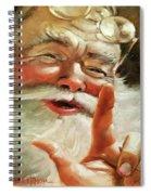 Santa 2017 Spiral Notebook