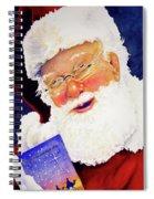 Santa Knows Spiral Notebook