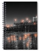 Santa Monica Glow By Mike-hope Spiral Notebook