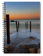 Santa Monica Sunrise Spiral Notebook