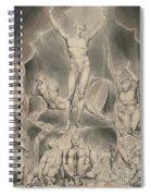 Satan Calling Up His Legions Spiral Notebook
