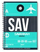 Sav Savannah Luggage Tag II Spiral Notebook