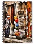 Scanno, Strada Abrami Spiral Notebook