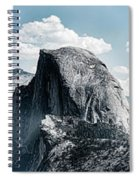 Scenic View Of Rock Formations, Half Spiral Notebook