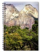 Scenic Zion - Mount Carmel Highway Drive 4 Spiral Notebook
