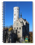 Schloss Lichtenstein Spiral Notebook
