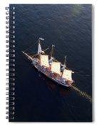 Schooner - D\s Spiral Notebook