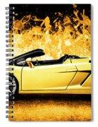 Scorcher Spiral Notebook