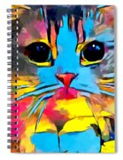 Scottish Fold Spiral Notebook