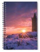 Scrabo Winter Sunrise Spiral Notebook