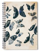 Scrapbook Butterflies Spiral Notebook