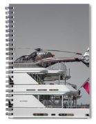 Sea And Air Turks And Caicos Spiral Notebook