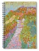 Sea And Dunes In Domburg Spiral Notebook