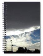 Sea Of Darkness 2 Spiral Notebook