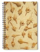 Sea Shell Scroll Spiral Notebook