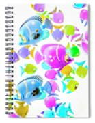 Sea Swimmers Spiral Notebook