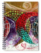 Sea Turtle Love Spiral Notebook