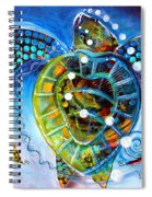 Sea Turtle Says Spiral Notebook