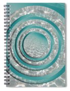 Seabed Circles Spiral Notebook