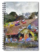 Seaberry Surf The Shops Of Cape Cod Massachusetts Pa Spiral Notebook