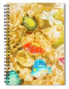 Seaside Simulation Spiral Notebook