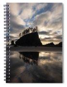 Second Beach Seastack Clarity Spiral Notebook