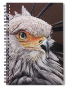 Secretary Bird Spiral Notebook