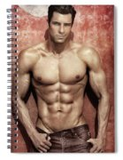 Seducing Look Spiral Notebook