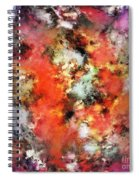 See The Flames Spiral Notebook
