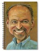Self Caricature Spiral Notebook