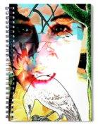 Self Portrait Unafraid Spiral Notebook