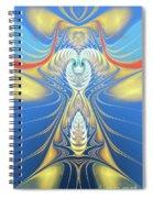 Send Me An Angel Spiral Notebook
