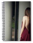 Sensual Lady Spiral Notebook