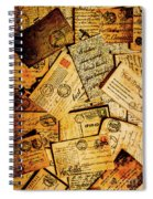 Sentimental Writings Spiral Notebook