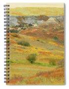September In The Realm Of West Dakota Spiral Notebook