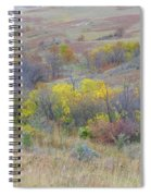 September Perfection On The Western Edge Spiral Notebook