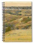 September Ridgeline Reverie Spiral Notebook
