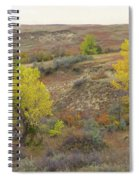 September Trees Reverie Spiral Notebook