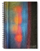 Serendipitous Abstract Spiral Notebook