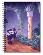 Sergovia In A Spanish Garden Spiral Notebook