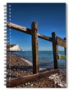 Seven Sisters Through Sea Defences Spiral Notebook