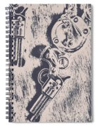 Shackled To The Law Spiral Notebook