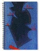 Shadow, 1931 Spiral Notebook