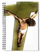 Shadow Of The Cross Spiral Notebook