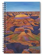 Shadows And Breezes Spiral Notebook
